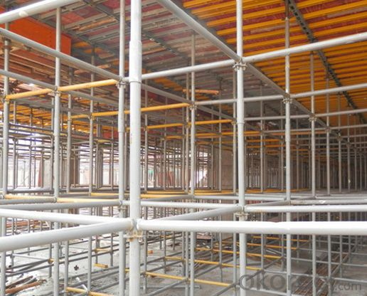 Scaffolding for slab, quick locking plate scaffolding, steel scaffolding for construction