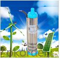 Stainless Steel Solar Powered Submersible Pump for Borehole Well