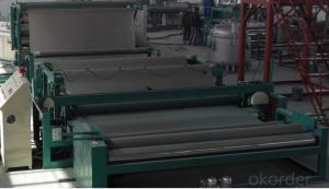 High Polymer Polyethylene Waterproofing Membranes Production Line  350kg Per Hour Capacity