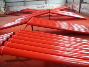 Twin Wall Pipe for Concrete Pump Pipe Thickness 7mm Length 1000mm