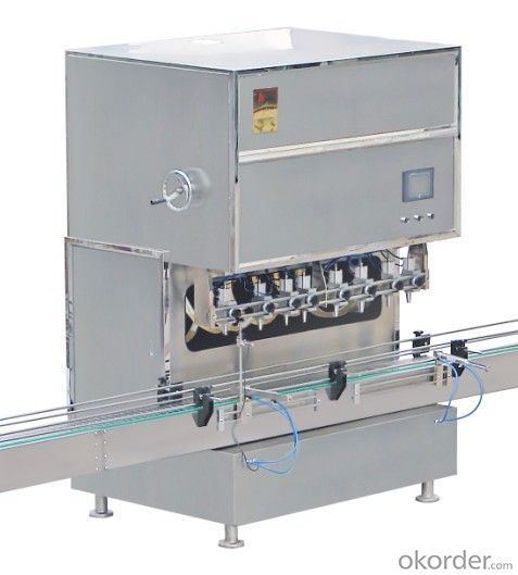 Meter Automatic Filling Machine for Metal Packaging