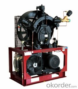 High Pressure Piston Air Compressor for pet bottle air compressor (ISO, CE)
