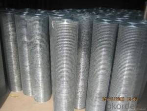 WEAVING WITH HOT DIPPED GALVANIZED IRON WIRE ONE