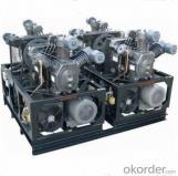 pet blow moulding machine high pressure 40bar booster air compressor