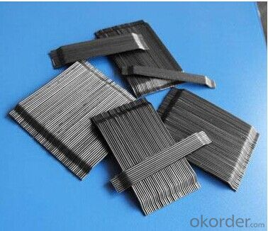 Glued Steel Fiber for Prefabricated Warehouse Building