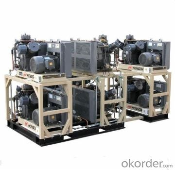 High Pressure Air Compressor /Compresores De Aire/Air Man Screw Compressor