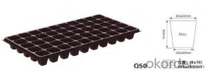 Plug tray Q50 Plant tray Cell tray
