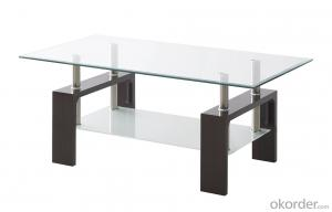 tempered glass tea table