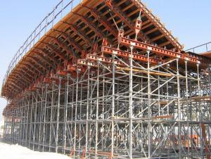 CUP LOCK SCAFFOLDING SYSTEM  CONSTRUCTION
