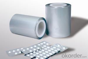 Aluminum foil for pharmaceutical use