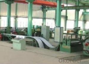Slitting and Cut to Length Line-galvanized steel