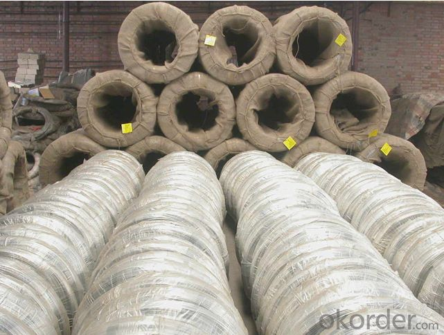 Galvanized Iron Wire For Chain Link Fence Use 400 USD Per Ton