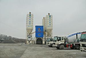 HLS 120 concrete batching plant