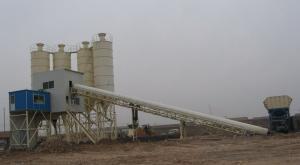 HLS 60 concrete batching plant