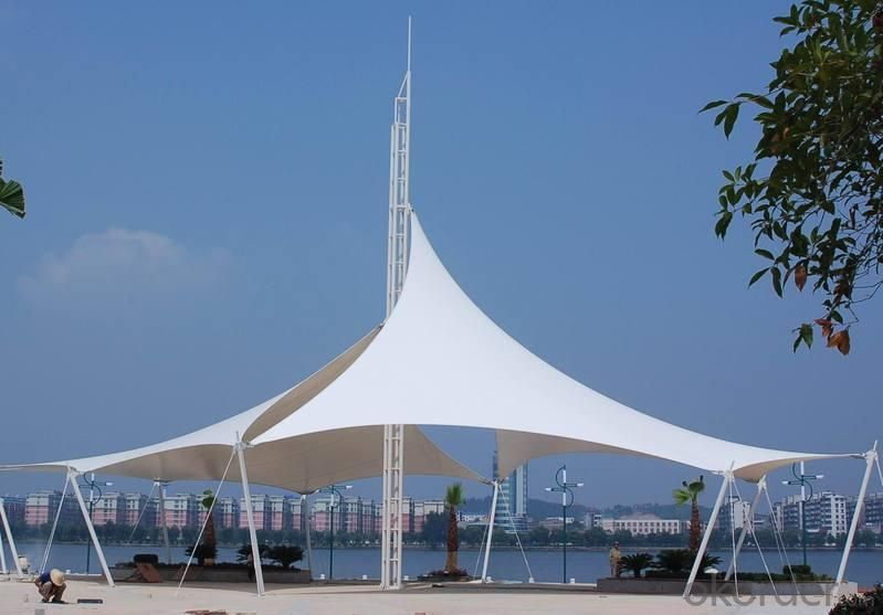 White Sun Shade Sail in Big Size