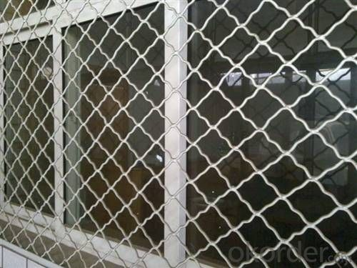 Buy Aluminum Beautiful Grid Wire Mesh Price Size Weight