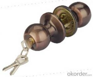 Round Knob Door Lock 607 AC