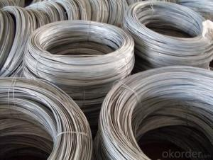 Hot GI Wire High Tension 35kg to 50 kg Hot Dipped Galvanized Steel Wire