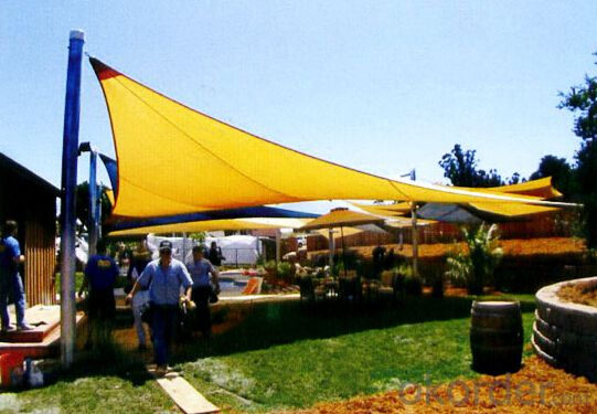 Sun Shade Sails With Virgin Materials