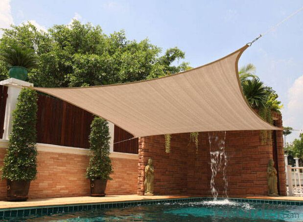 Buy Swimming Pool Sun Shade Net Price Size Weight Model