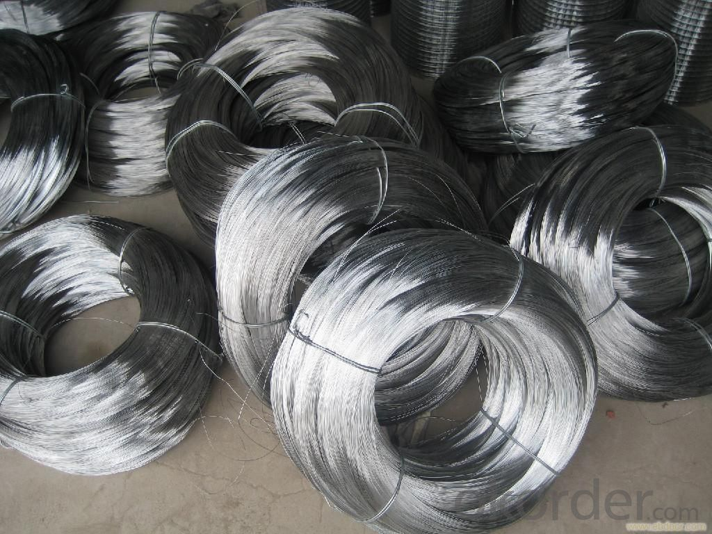 Hot Dip Galvanized  Wire For Wire Mesh And Cable Armouring Wire