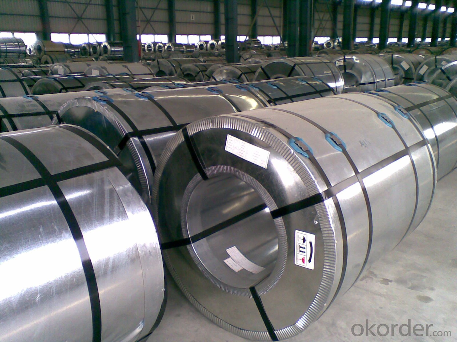 Hot Dipped Galvanized Steel Coil/Sheet-Z60g