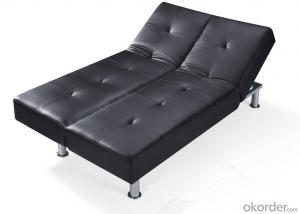 Leather sofabed in pu