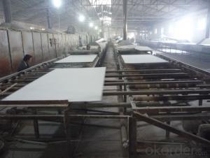Mineral fiber false ceiling tiles in china