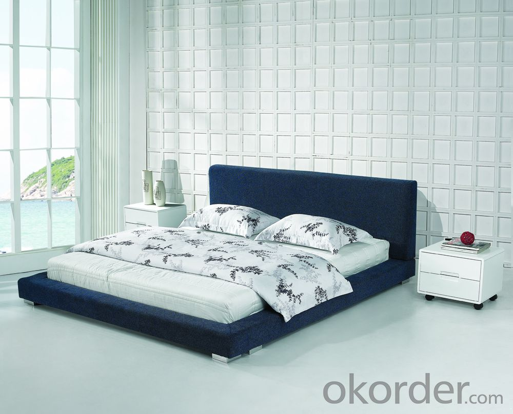 High Quality Modern Leather Bed  CN8