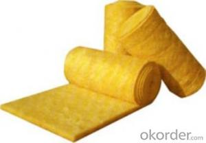 Glass Wool Blanket bare for Insulation High Quality