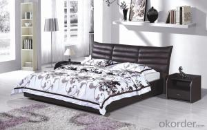 High Quality Modern Leather Bed  CN18