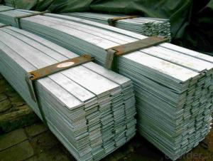 Galvanized Steel Flat Bar