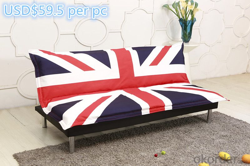 Leather sofabed in pu model-8