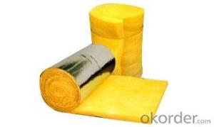Thermal Insulation Glass Wool Blanket Building Material