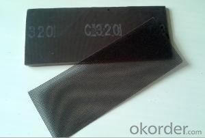 SILICON CARBIDE ABRASIVE SCREEN SHEETS