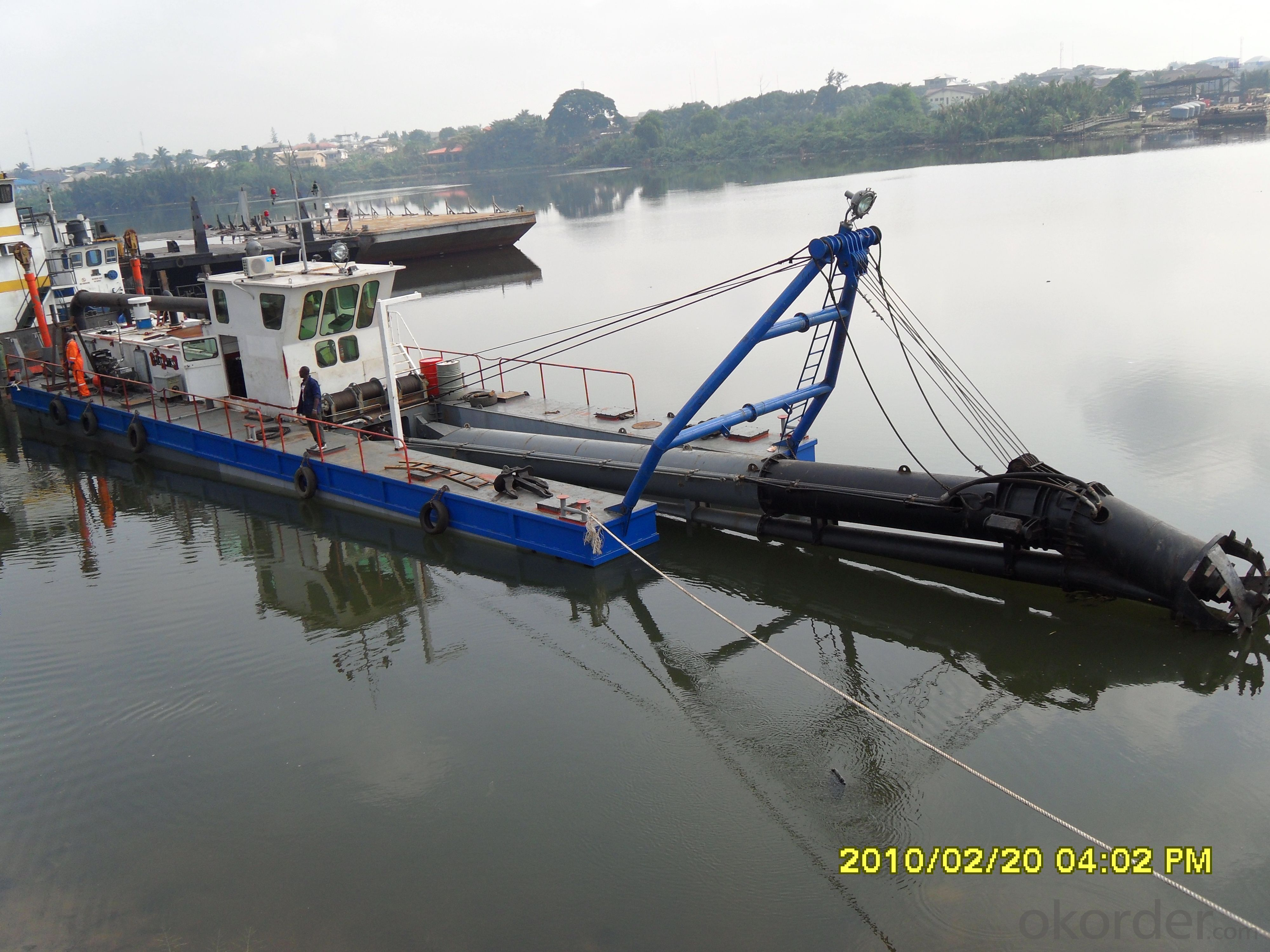 CSD-300 Cutter Suction Dredger