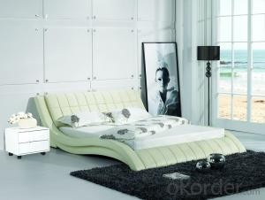 High Quality Modern Leather Bed  CN2