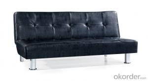 Leather sofabed in pu model-6