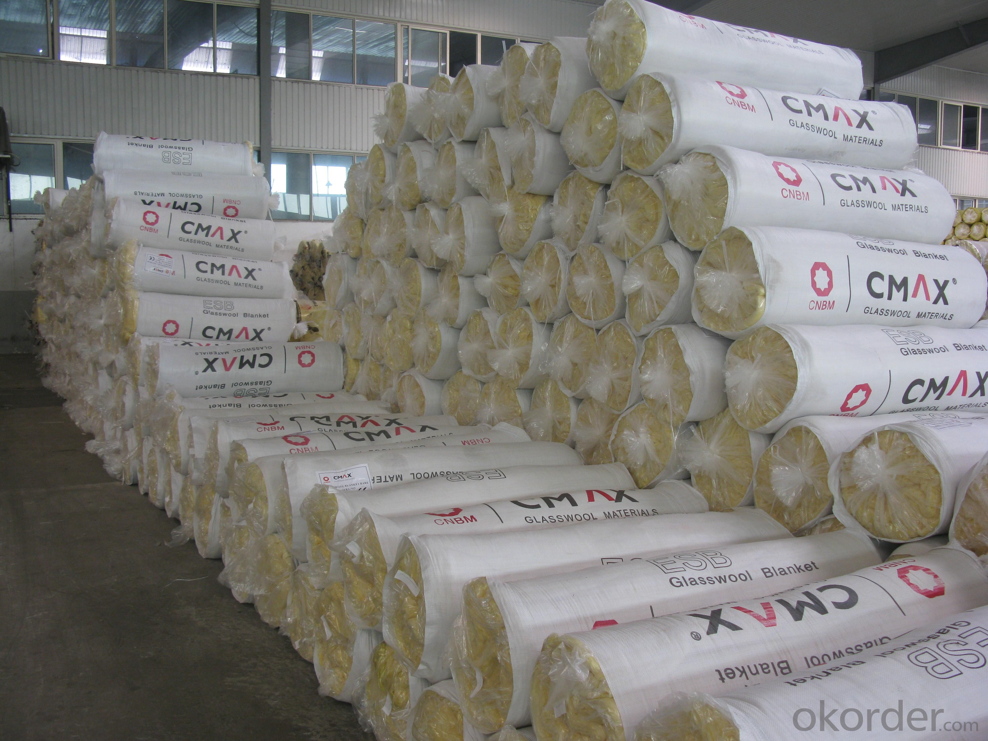 Glass Wool Blanket unfaced for Wall Partion