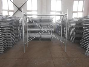 Frame system Scaffoldings(painted and pre-galvanized)