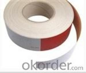 red reflective tape, vehicle conspicuity tape