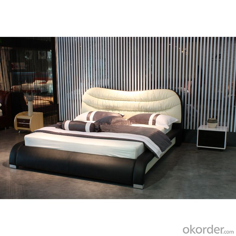 High Quality Modern Leather Bed  CN5