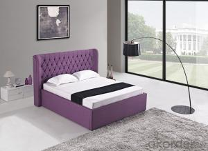 High Quality Modern Leather Bed  CN20