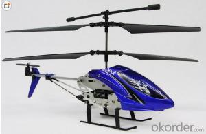 Single Blade Without Balance Bar RC Helicopter