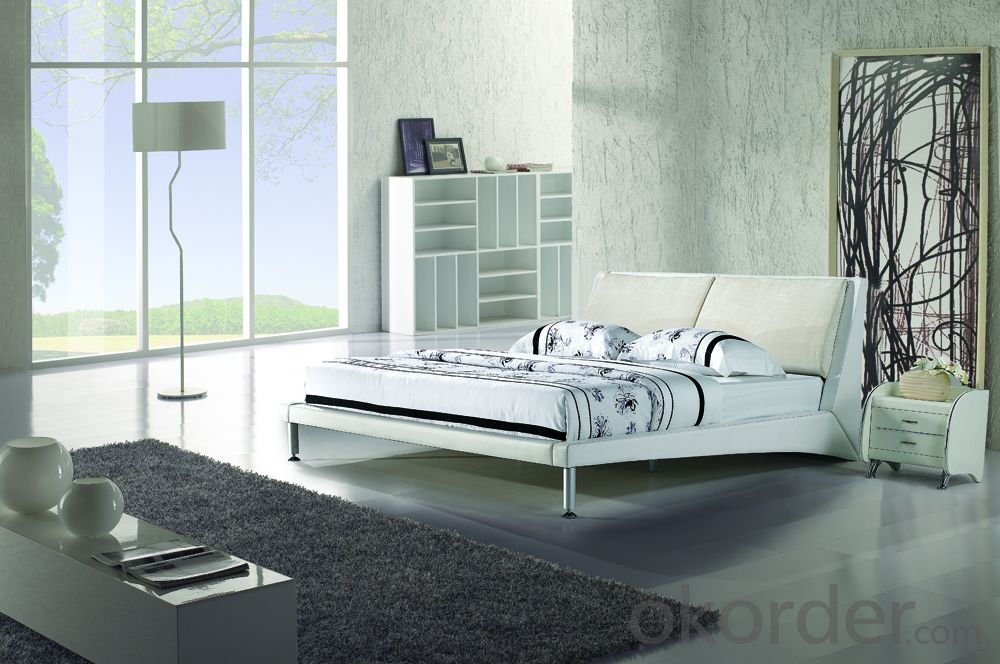 High Quality Modern Leather Bed  CN11
