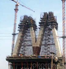 Auto-Hydraulic climbing formwork for brige construction
