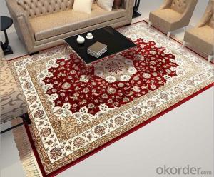 Luxury Persian Design Viscose Carpet