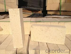 Steelmaking eaf partly high alumina brick