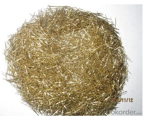 Copper Coated Steel Fiber for Concrete Reinforcement