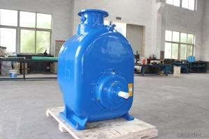 P-12 Self priming centrifugal Diesel Trailer Mounted Water Pumps